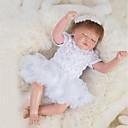 ieftine Păpuși-OtardDolls Păpuși Renăscute Bebe Fetiță 18 inch natural, Mâini aplicate manual, Cuie cu buzunare și sigilate Lui Kid Fete Cadou / Tonul natural al pielii / Floppy Head
