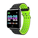 billige Smartklokker-smartwatch m19 kvinner menn hjertefrekvens blodtrykk bluetooth vanntett sport smart armbånd for android ios