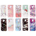 cheap iPhone Cases-Case For Samsung Galaxy A8 Plus 2018 / A8 2018 IMD / Pattern Back Cover Marble Soft TPU for A6 (2018) / A6+ (2018) / A3(2017)