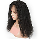 cheap One Pack Hair-Remy Human Hair Full Lace Wig Brazilian Hair Curly Wig 150% Natural Hairline / With Bleached Knots Women's Long Human Hair Lace Wig