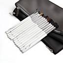 hesapli Göz Farları-14pcs Makyaj fırçaları Profesyonel Fırça Setleri / Makkyaj / Cilt Bakımı Profesyonel / Tam Kaplama Ahşap / Bambu