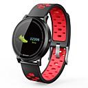 זול שעונים חכמים-חכמים שעונים NO.1 F4S ל iOS / Android מוניטור קצב לב / עמיד במים / מודד לחץ דם / כלוריות שנשרפו / המתנה ארוכה שעון עצר / מד צעדים / מזכיר שיחות / מד פעילות / מעקב שינה / תזכורת בישיבה / Alarm Clock