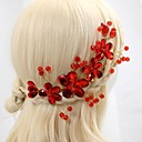 זול הד פיס למסיבות-סגסוגת רצועות עם קריסטלים / אבנים נוצצות 1pc חתונה / אירוע מיוחד / יום הולדת כיסוי ראש