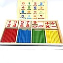 baratos Brinquedos de Leitura-Brinquedo de Leitura Número Escola Madeira / Bambu Crianças Para Meninos Para Meninas Brinquedos Dom 2 pcs