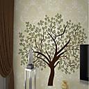 baratos Adesivos de Parede-papel de parede / Mural Tela de pintura Revestimento de paredes - adesivo necessário Art Deco / Árvores / Folhas / Padrão