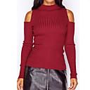 abordables Collares-Mujer Activo / Básico Cardigan - Un Color