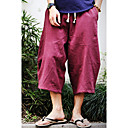 ieftine Maieu & Tricouri Bărbați-Bărbați Bumbac / In Larg Pantaloni Chinos / Pantaloni Scurți Pantaloni Mată