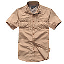 cheap Hiking Shirts-Men's Hiking Shirt Outdoor Fast Dry, Wearable, Breathability Shirt / Top Invisible Camping / Hiking / Outdoor Exercise / Multisport
