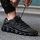 ieftine Papuci de casă-Bărbați Adidași PU Mers / Alergat / Jogging Respirabilitate, Comfortabil, Non-Slip Plasă de Aerisire Alb / Negru / Gri