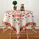 tanie Bieżniki stołowe-Współczesny Kwadrat Obrus Geometryczny Dekoracje stołowe 1 pcs