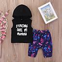 povoljno Vanjska odjeća za Za dječake bebe-Dijete Dječaci Print Bez rukávů Komplet odjeće