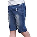 povoljno Majice za dječake-Djeca Dječaci Osnovni Jednobojni Traperice