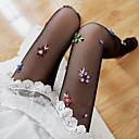 preiswerte Damen Sportschuhe-Damen Socken Blume Beinformung Samt EU36-EU42