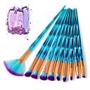 preiswerte Make-up-Pinsel-Sets-10-Pack Makeup Bürsten Professional Bürsten-Satz- Professionell / vollständige Bedeckung Plastik