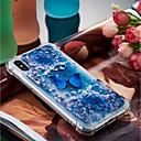 tanie Etui na telefony & Folie ochronne-Kılıf Na Jabłko iPhone X / iPhone 8 Plus Odporny na wstrząsy / Z płynem / Transparentny Osłona tylna Motyl Miękka TPU na iPhone X / iPhone 8 Plus / iPhone 8