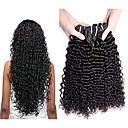 tanie Dopinki naturalne-3 zestawy Włosy malezyjskie Curly Włosy naturalne Fale w naturalnym kolorze / Pakiet One Solution / Doczepy z naturalnych włosów 8-28 in Kolor naturalny Ludzkie włosy wyplata Najwyższa jako