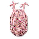 ieftine Set Îmbrăcăminte Bebeluși-Bebelus Fete Activ / De Bază Concediu Floral / Imprimeu Fără manșon bodysuit / Copil
