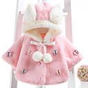 preiswerte Lebensechte Puppe-Baby Mädchen Grundlegend Alltag Schmetterling Patchwork Patchwork Langarm Standard Baumwolle Jacke & Mantel Rosa