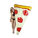 billige Swim Aids-Pizza Oppusteligt badelegetøj PVC Holdbar, Oppustelig Svømning / Vandsport for Voksen 182*122 cm