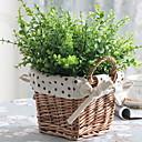 رخيصةأون زهور اصطناعية-زهور اصطناعية 4.0 فرع كلاسيكي زهري نباتات أزهار الطاولة