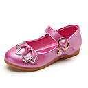 povoljno Cipele za djevojčice-Djevojčice Cipele PU Proljeće ljeto Udobne cipele / Obuća za male djeveruše Ravne cipele Hodanje Mat selotejp za Dijete koje je tek prohodalo Fuksija / Plava / Pink