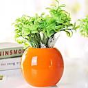 preiswerte Gerahmte Kunst-Künstliche Blumen 1 Ast Klassisch Modern / Zeitgenössisch / Simple Style Ewige Blumen / Vase Tisch-Blumen