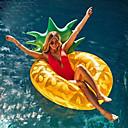 billige Bakeformer-Ananas Oppblåsbare bassengleker PVC Holdbar, Oppblåsbar Svømming / Vannsport til Voksen 180*80 cm