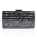 cheap Clutches & Evening Bags-Women's Bags Acrylic / Alloy Evening Bag Crystals Black / Red / Almond