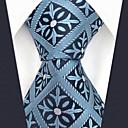 abordables Oxfords para Hombre-Hombre Corbata - Fiesta / Trabajo Bloques / Cuadrícula / Jacquard
