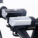 preiswerte Radhandschuhe-Fahrradlicht LED Radlichter LED Radsport Wasserfest, Wiederaufladbar, Abblendbar Lithium-Batterie 180 lm USB Camping / Wandern / Erkundungen / Für den täglichen Einsatz / Radsport / IPX-4