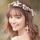 cheap Hair Jewelry-Women's Simple Head Chain - Floral Flower