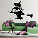 abordables Adhesivos de Pared-Calcomanías Decorativas de Pared - Holiday pegatinas de pared Halloween Sala de estar / Dormitorio / Baño