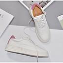 povoljno Ženske cipele s petom-Žene Cipele PU Ljeto Udobne cipele Sneakers Ravna potpetica Zatvorena Toe Crn / Pink