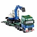 abordables Camiones de juguete y vehículos de construcción-Coches de juguete Vehículo de construcción Vehículo de construcción Nuevo diseño Aleación de Metal Niño Adolescente Todo Chico Chica Juguet Regalo 1 pcs