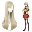 cheap Anime Cosplay Wigs-Cosplay Wigs Cosplay Cosplay Brown Anime Cosplay Wigs 10 inch Heat Resistant Fiber All Halloween Wigs