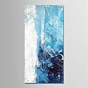 olcso Olajfestmények-Hang festett olajfestmény Kézzel festett - Absztrakt / Ünneő Modern Anélkül, belső keret / Hengerelt vászon