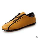 olcso Férfi bebújós cipők és papucsok-Férfi Formális cipők Nappa Leather Tavasz / Nyár Félcipők Fehér / Sárga / Kék
