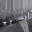 billige Badekraner-Badekarskran - Moderne Krom Vannrett Montering Keramisk Ventil