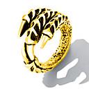זול טבעות לגברים-בגדי ריקוד גברים מסוגנן טבעת הטבעת - פלדת על חלד פאנק, טרנדי, היפ-הופ 8 / 9 / 10 זהב / כסף עבור מתנה / יומי