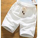 tanie Czujniki-Męskie Bawełna Szorty Spodnie Solidne kolory