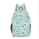 ieftine Intermediate School Bags-Pentru femei Genți pânză Geantă Școală Fermoar Fucsia / Albastru celest / Kaki