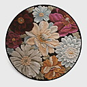 cheap Rugs-Area Rugs Casual / Modern Polyster, Circular Superior Quality Rug / Non Skid