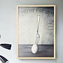 baratos Desenhos Animados Relógios de Parede-Moderno / Contemporâneo Madeira Espelhado Molduras, 1pç