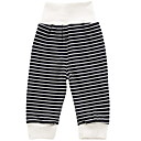 ieftine Pantaloni Băieți-Bebelus Băieți De Bază Zilnic Dungi Imprimeu Bumbac Pantaloni Alb