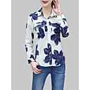 cheap Rings-Women's Shirt - Solid Colored / Floral / Geometric Print