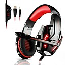 cheap Car Emergency Tools-KOTION EACH G9000 Headband Wired Headphones Headphone ABS+PC Gaming Earphone with Microphone / with Volume Control Headset