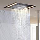abordables Cabezas de Ducha-Moderno Ducha lluvia Ti-PVD Característica - Efecto lluvia / Nuevo diseño, Alcachofa de la ducha