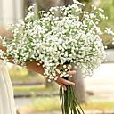tanie Sztuczne kwiaty-Sztuczne Kwiaty 1 Gałąź Pojedyncze Ślub Łyszczec
