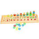 cheap DIY Toys-Montessori Teaching Tool / Wooden Puzzle Education Wooden 1 pcs Kid's Boys' Gift