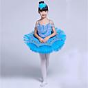 זול בגדי ריקוד לילדים-בלט שמלות בנות הצגה ספנדקס סלסולים / מפרק מפוצל ללא שרוולים Tutus